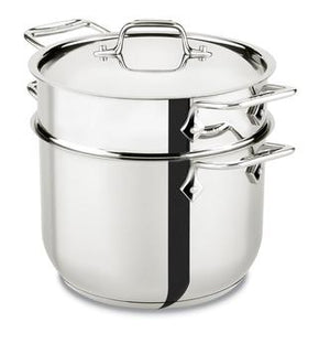 All-Clad Specialty Pasta Pot - 6QT - Zest Billings, LLC