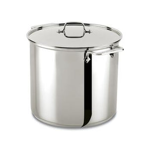 All-Clad Specialty Stock Pot w/Lid - 16 QT - Zest Billings, LLC