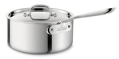 All-Clad D3 Sauce Pan w/Lid - 4QT