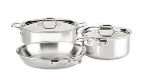 All-Clad D3 Compact Set: 5 Piece - Zest Billings, LLC