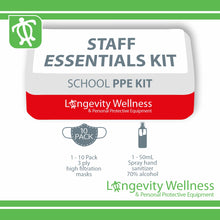 Load image into Gallery viewer, Staff Essentials PPE Kit