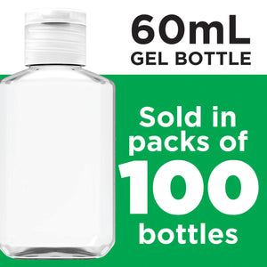 Travel Bottle, 60ml, Flip-cap, refillable