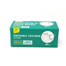 Load image into Gallery viewer, Disposable Face Mask, 50 pack