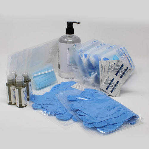 Face Masks, Nitrile Gloves, Hand Sanitizer