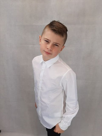 Antony morato junior SHIRT MKSL00245FA10 1000 White
