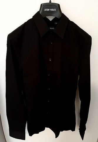 Antony morato junior SHIRT MKSL00245FA10 9000 Black