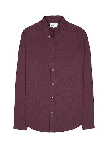 Ben Sherman SHIRT SH-0061447 049 Port