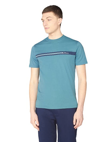 Ben Sherman T-SHIRT 0063358 140. Teal