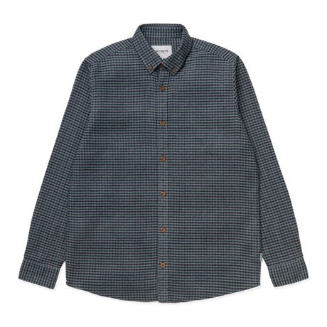 Carhartt L/S THORNE SHIRT I028234 Dark Navy