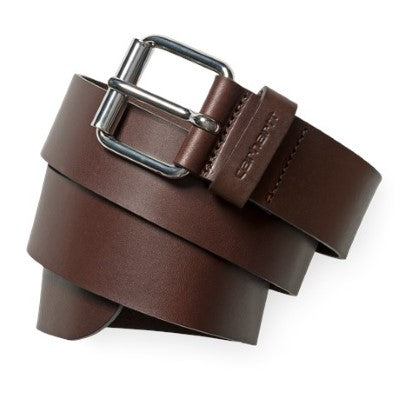 Carhartt SCRIPT BELT I003003 Dark Brown