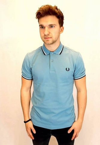 Fred perry POLOSHIRT M3600 A88 Smoke Blue