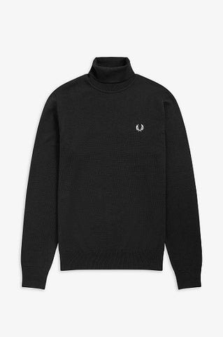 Fred perry ROLL NECK K9552 102 Black