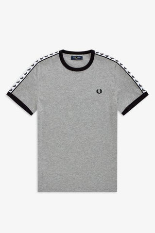 Fred perry TAPED RINGER M6347 291 Steel marl