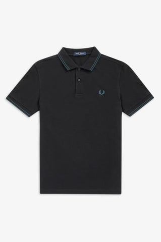 Fred perry TWIN TIPPED M3600 L55 Black