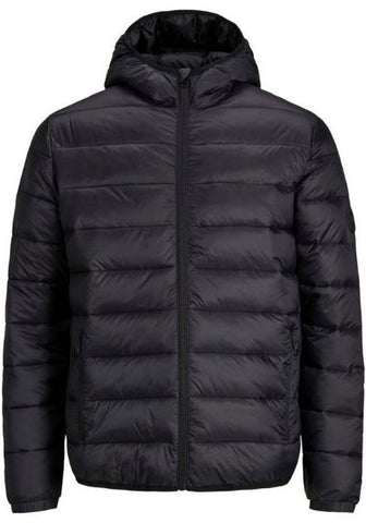 Jack&Jones junior JJEMAGIC PUFFER HOOD  12177369 Black