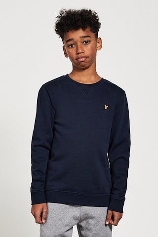 Lyle&Scott junior CREW NECK SWEATER LSC0016S 203 Navy blazer