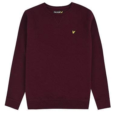 Lyle&Scott junior CREW NECK SWEATER LSC0016S 994 Winetasting