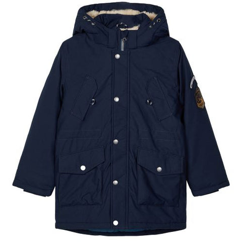 Name it NKMMACK PARKA JACKET  13178650 Dark Sapphire