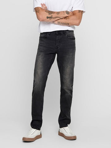 Only&Sons ONSLOOM LIFE BLACK WASHED 22010447 Black denim