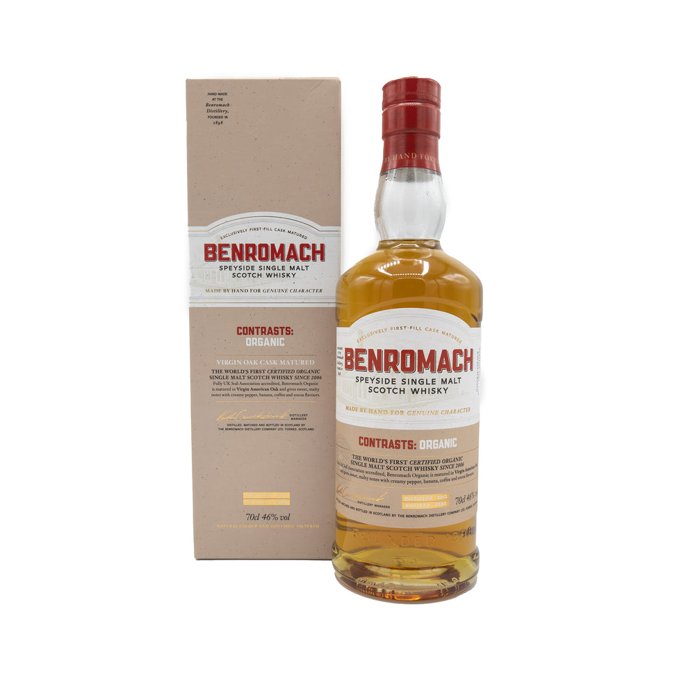 Benromach Organic Single Malt