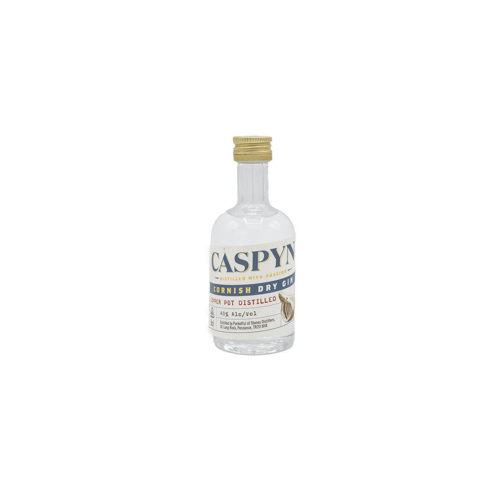 Caspyn Cornish Dry Gin 5cl