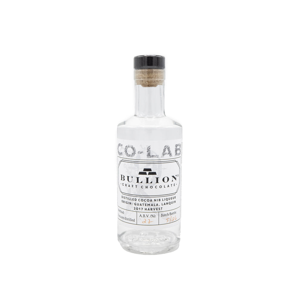 Co-Lab Bullion Distilled Cocoa Nib Liqueur 20cl