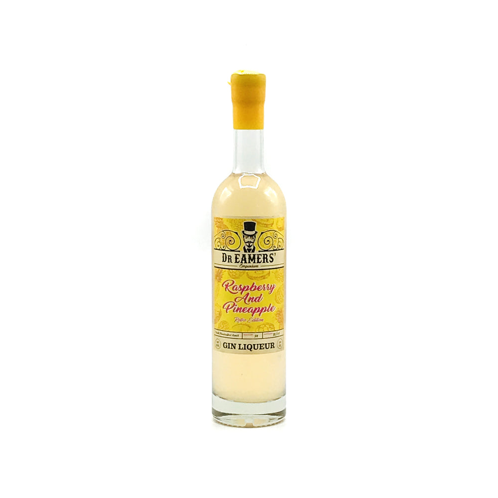 Load image into Gallery viewer, Dr Eamers Raspberry & Pineapple Gin Liqueur 50cl