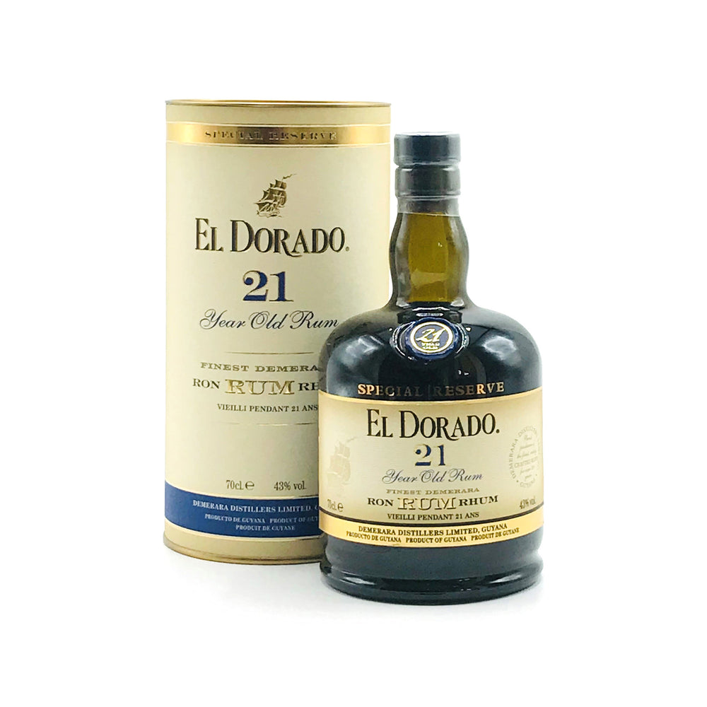 Load image into Gallery viewer, El Dorado 21 Year Old Rum