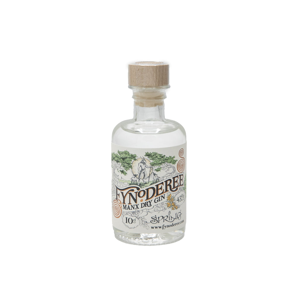 Load image into Gallery viewer, Fynoderee Spring Manx Dry Gin 10cl