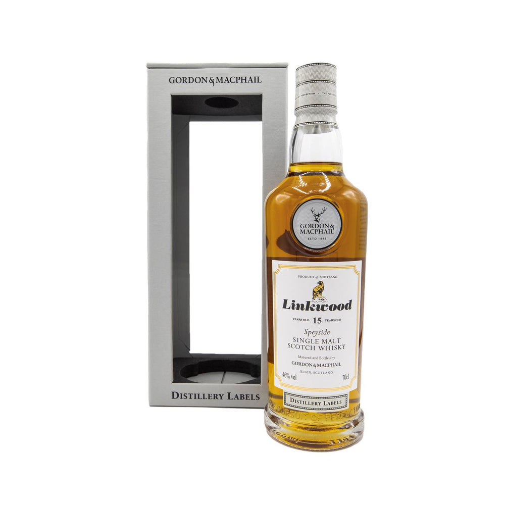 Linkwood Distillery Labels 15 Year Old (Gordon & Macphail)