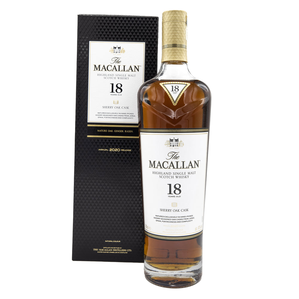 Macallan Malt Sherry Oak 18 Year Old