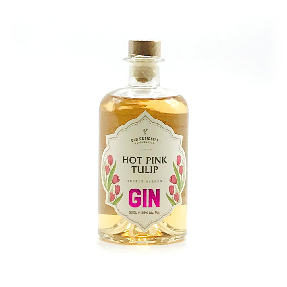Old Curiosity Hot Pink Tulip Gin 50cl