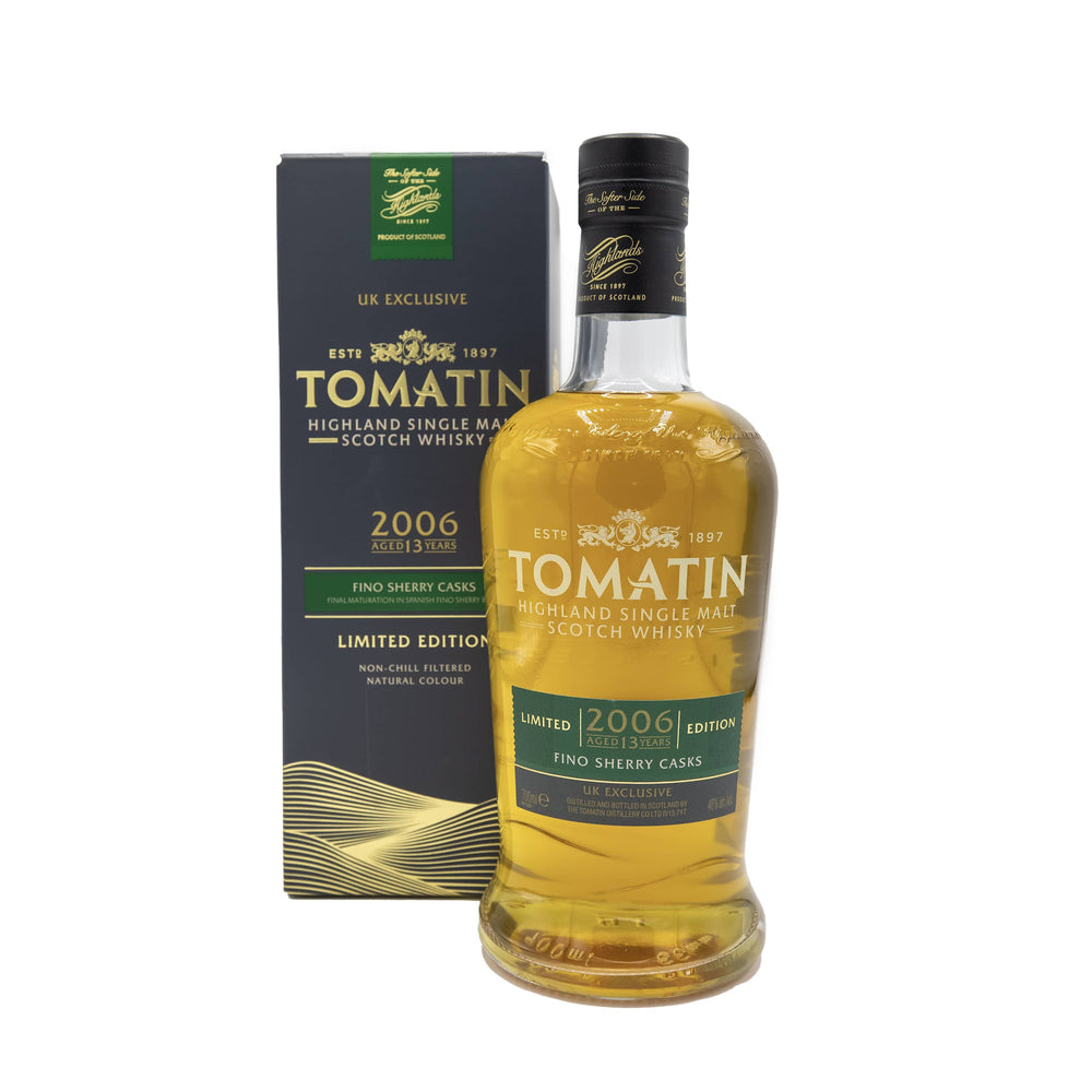Load image into Gallery viewer, Tomatin 2006 Fino Sherry Cask 13 Year Old