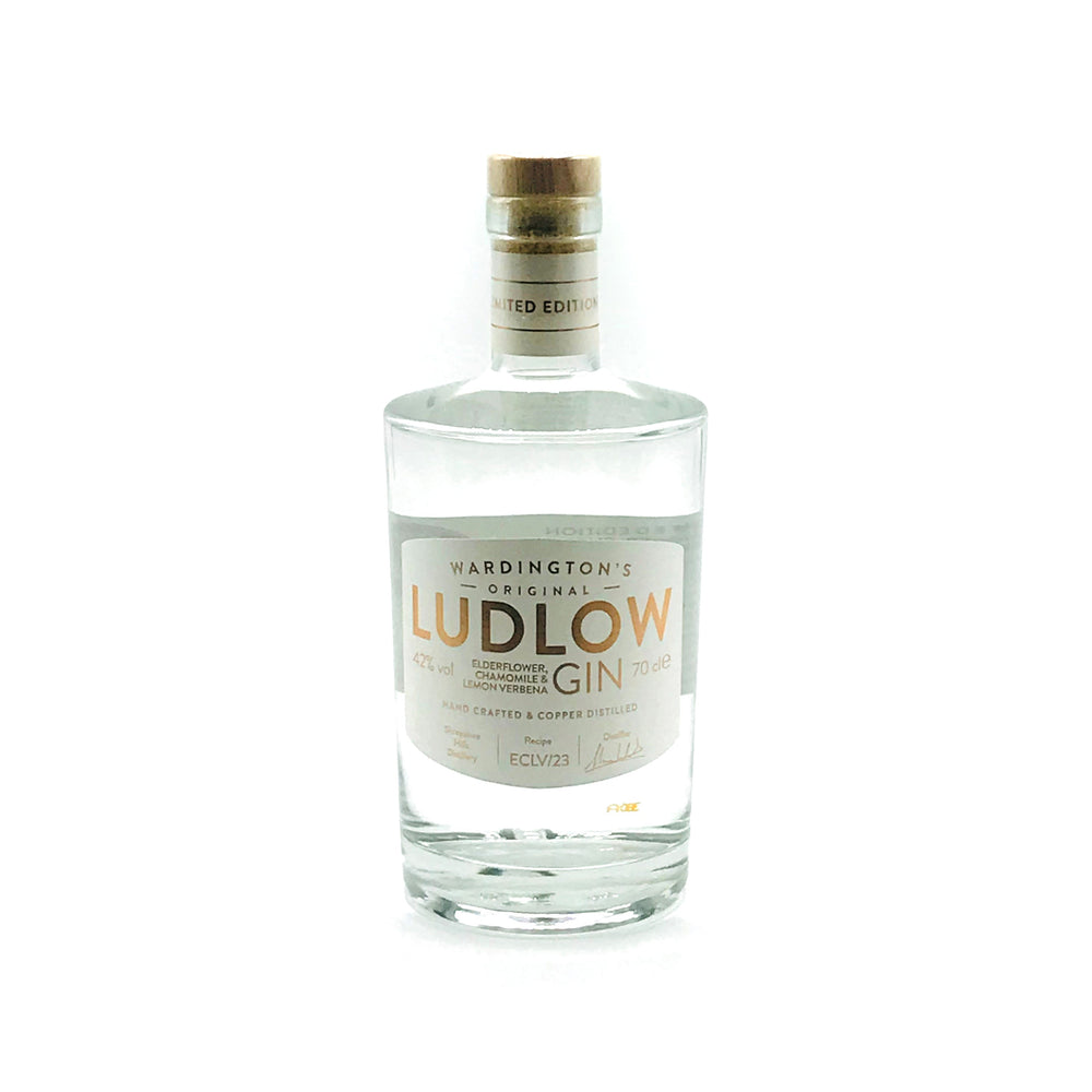Ludlow Elderflower, Chamomile & Lemon Verbena Gin