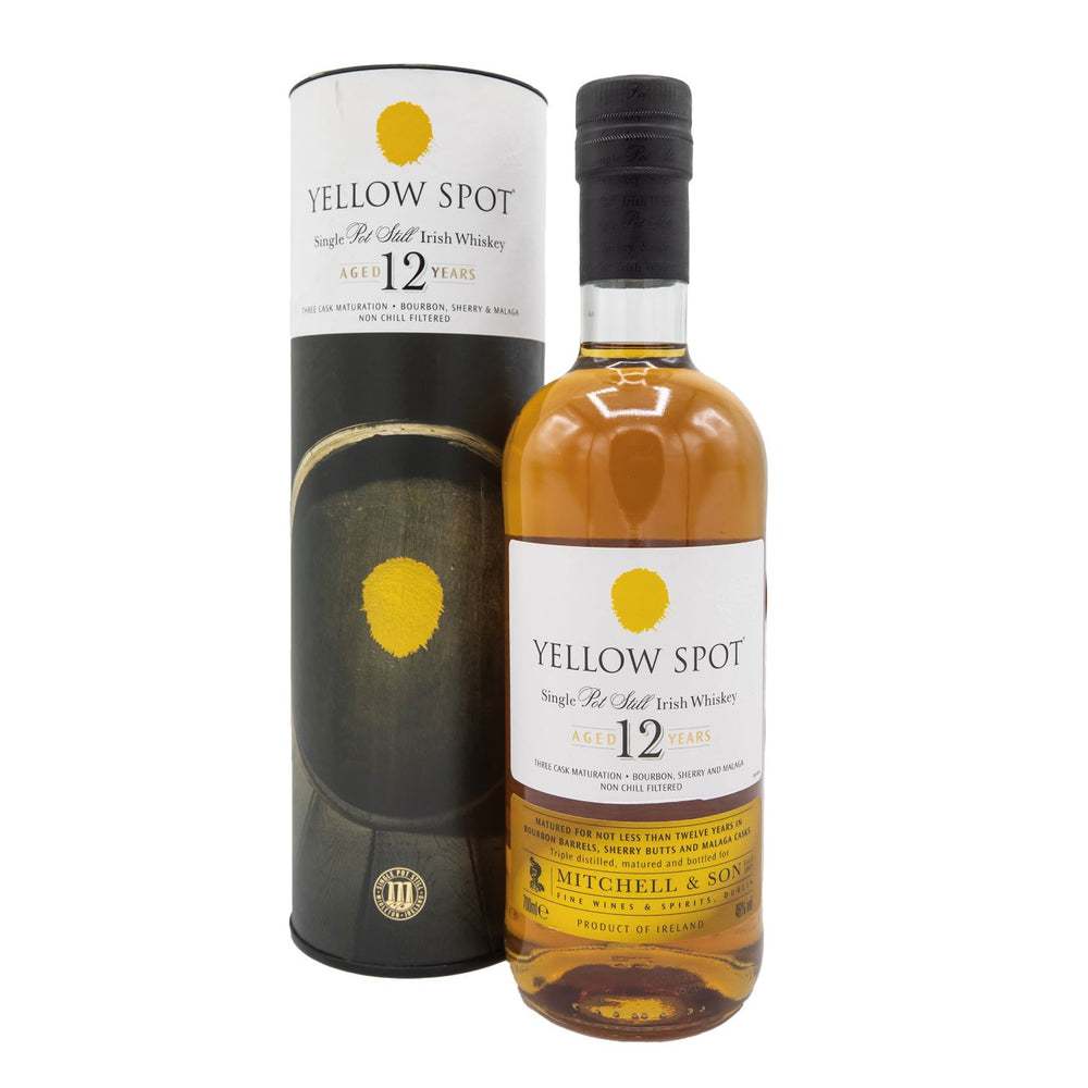 Yellow Spot Single Pot 12 year old Irish Whiskey 70cl