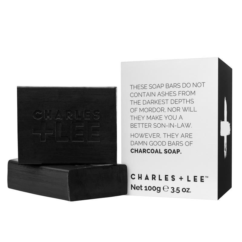 Charles + Lee Charcoal Soap - Duo - 100g