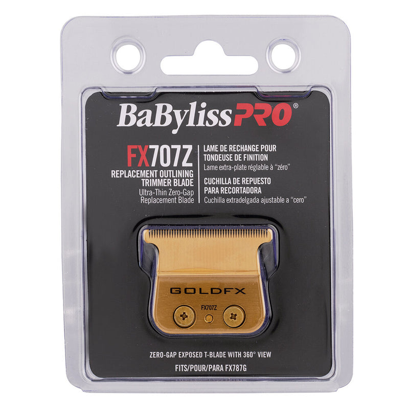 BaByliss PRO Replacement Outliner Hair Trimmer Blade Gold FX707Z Package