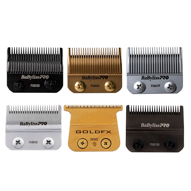 BaByliss PRO Replacement Outliner Hair Trimmer Blade Gold FX707Z all blades