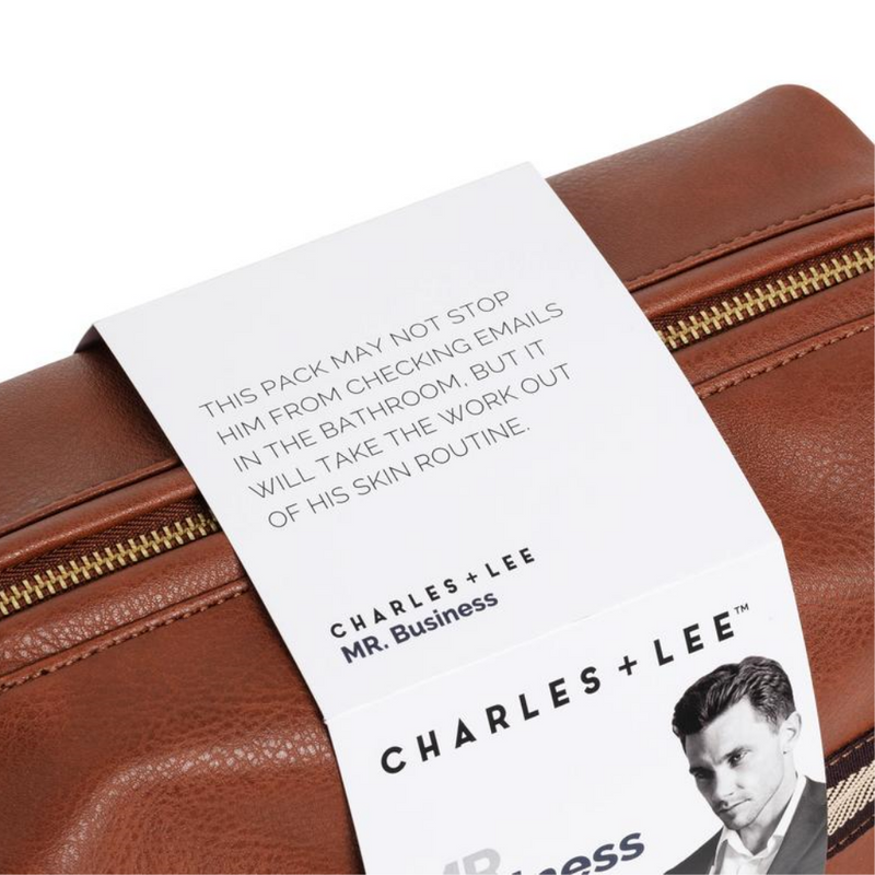 Charles + Lee Mr Business Gift Pack