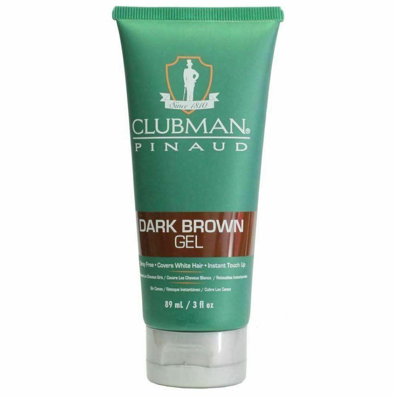 Clubman Pinaud - Dark Brown Hair Colour Gel For Grey Hair 89ml