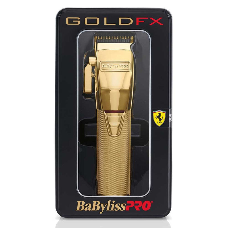 BaByliss PRO GoldFX Lithium Hair Clipper - FX870G Package