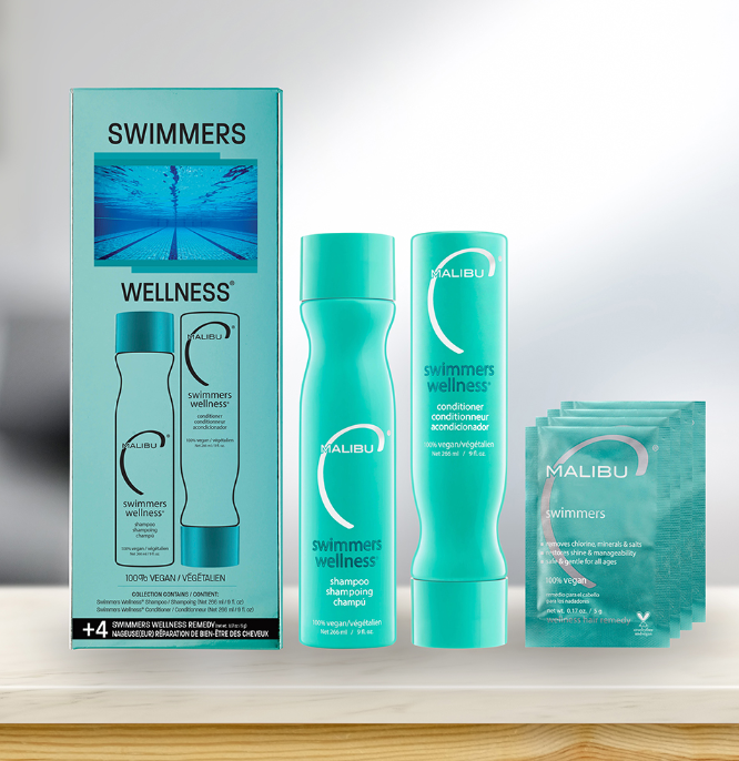 Malibu C Swimmers Wellness Hair Collection