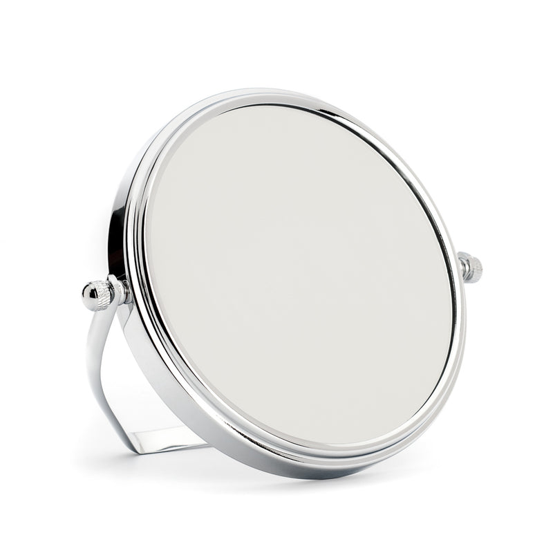 Muhle Shaving Mirror Double-Sided with Holder - 1x/5x Magnification