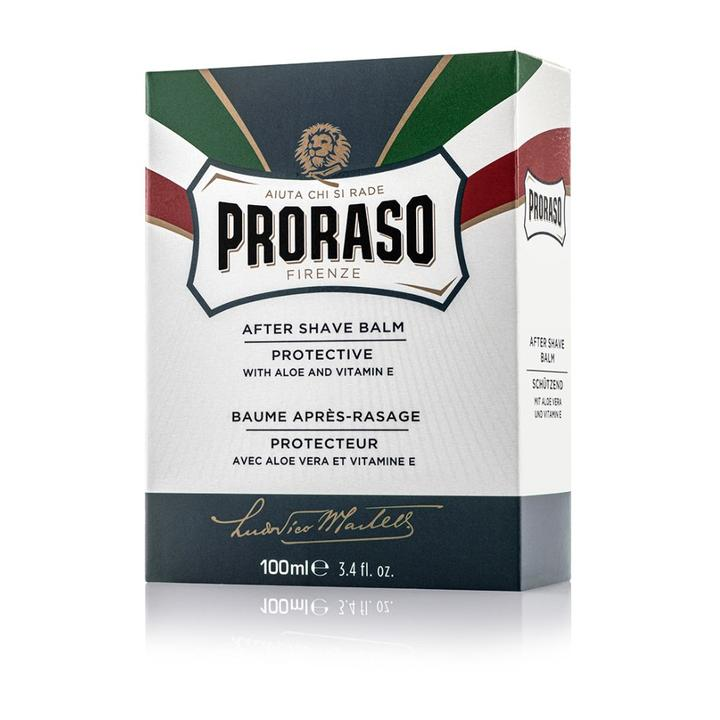 Proraso Aftershave Balm Protective with Aleo & Vitamin E 100ml - Blue