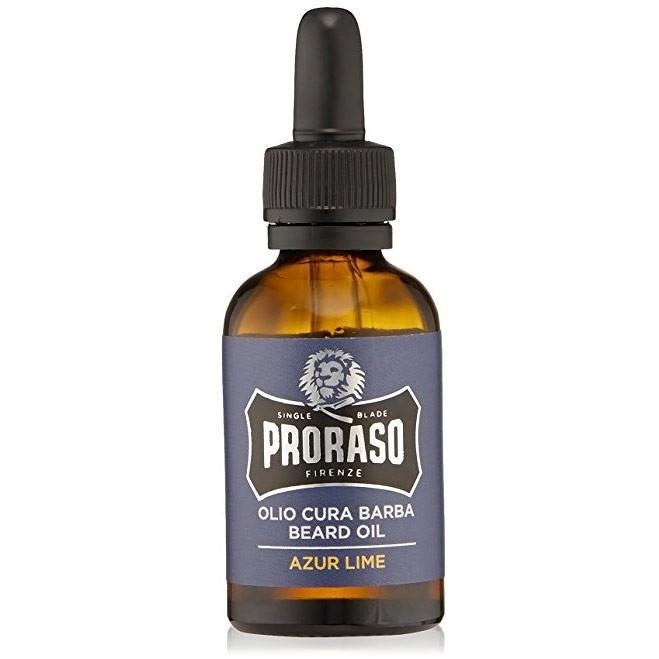 Proraso Azur Lime Beard Kit - Beard Oil
