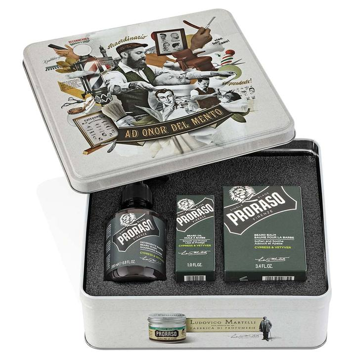 Proraso Cypress & Vetyver Beard Kit