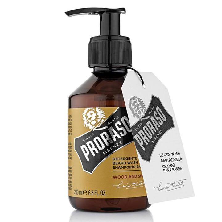 Proraso Wood & Spice Beard Kit - Beard Wash