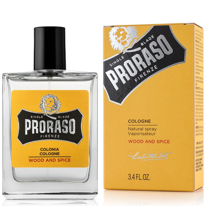 Proraso Cologne Wood & Spice 100ml with box
