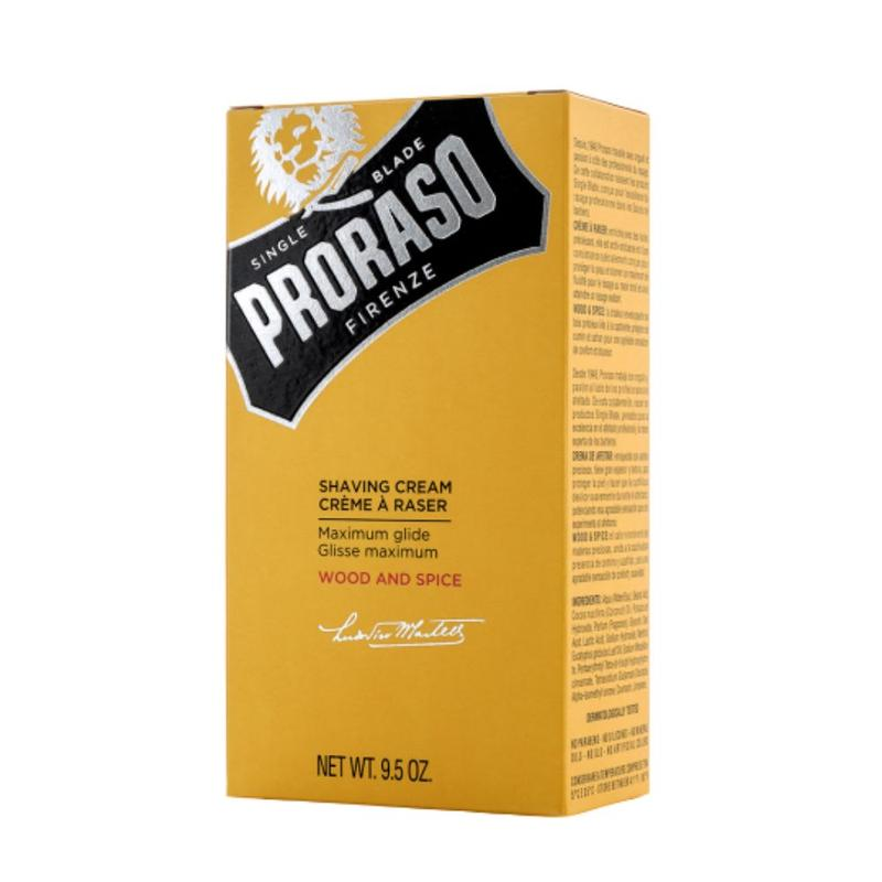 Proraso Shaving Cream Tube Wood and Spice 275ml Package