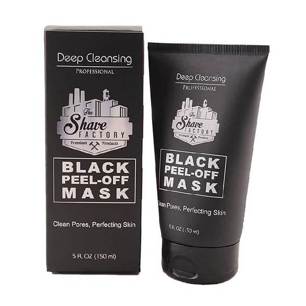 The Shave Factory Deep Cleansing Black Peel-Off Face Mask 150ml